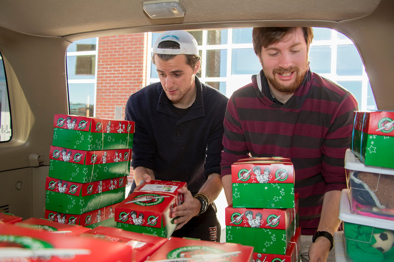Operation Christmas Child Delivery Nov 2017