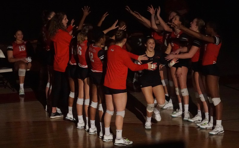 GWU volleyball v. Winthrop