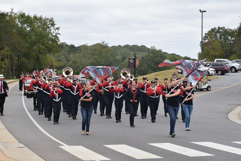 Homecoming Parade- Marching Band