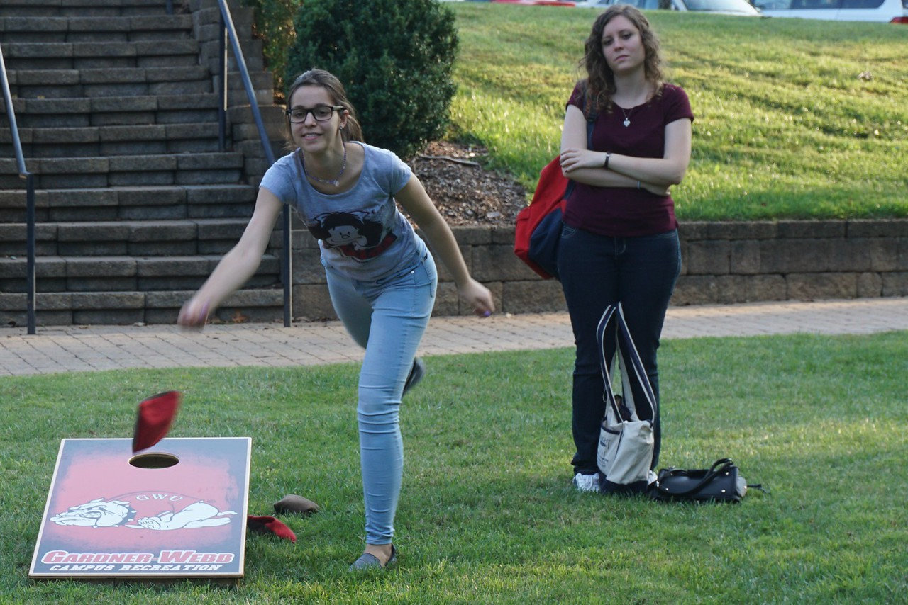 The Social Sciences hosted a night of fun for the people who take classes in their department.