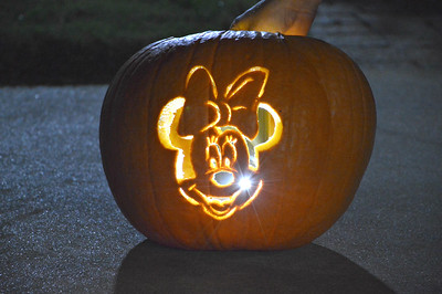 Dalton Meyers and Laura Denman's final product: Minnie Mouse!