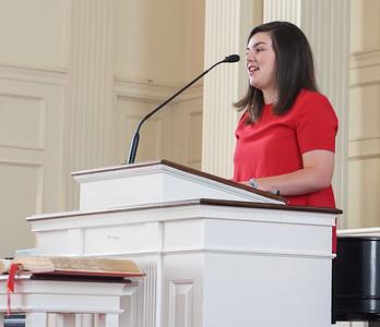 Emma Shappley shares her testimony
