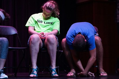 The hypnotist said that volunteers may feel well-rested after being hypnotized. No wonder!