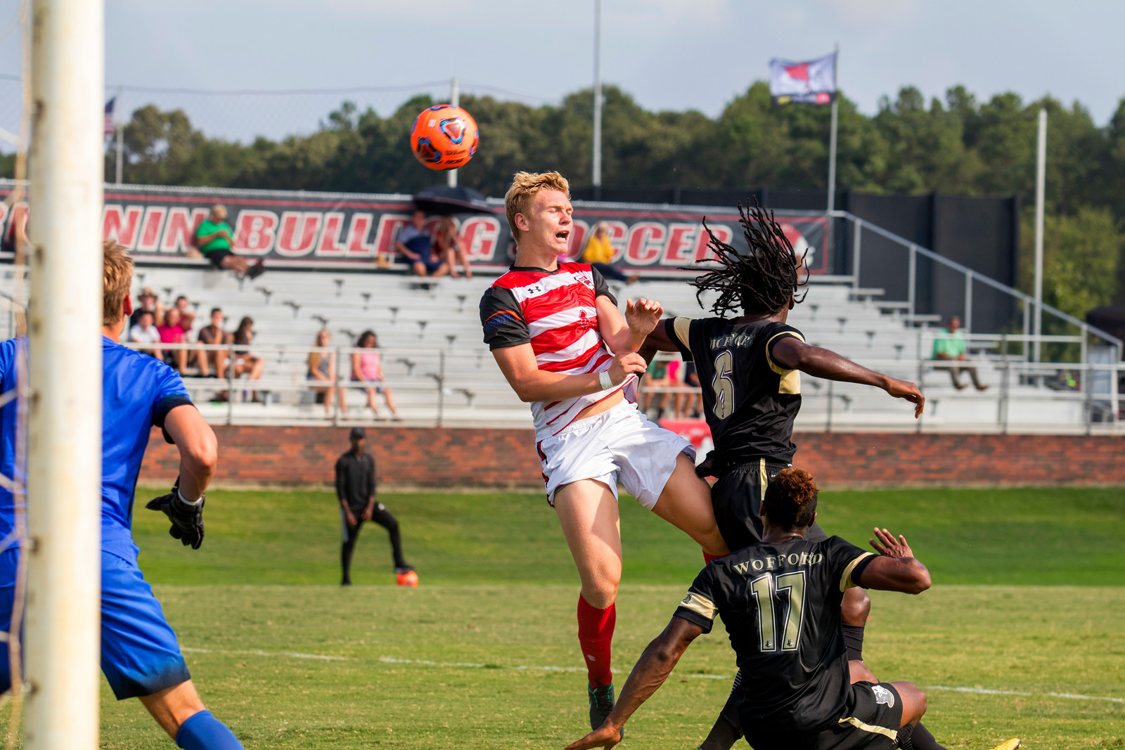 GWU Men's Soccer vs. Wofford Sept. 2017