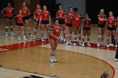 Volleyball V. Asheville