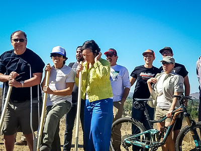 20171021027-Sapwi Trails Groundbreaking Trailwork