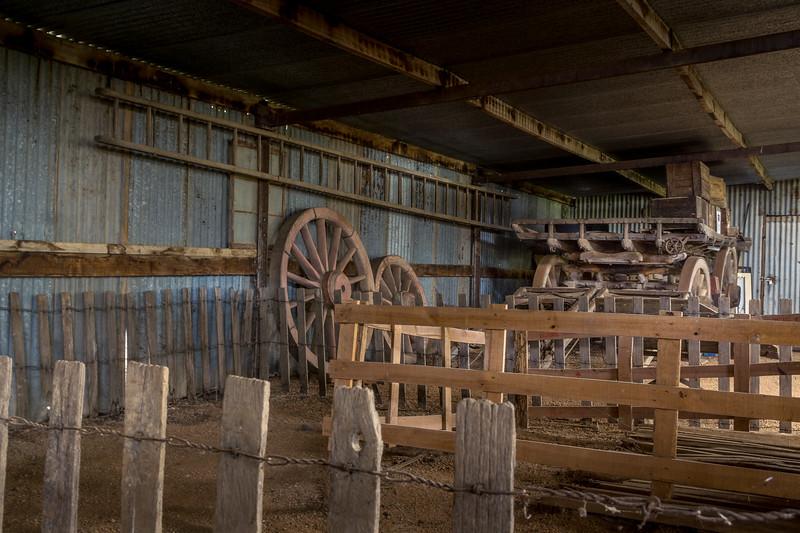 Sheep Shearing Shed