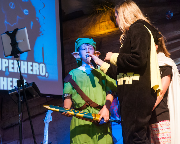 Youthquake Superhero Costume Contest. September 20, 2017.
