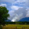 Start of a Fire, Eureka, MT