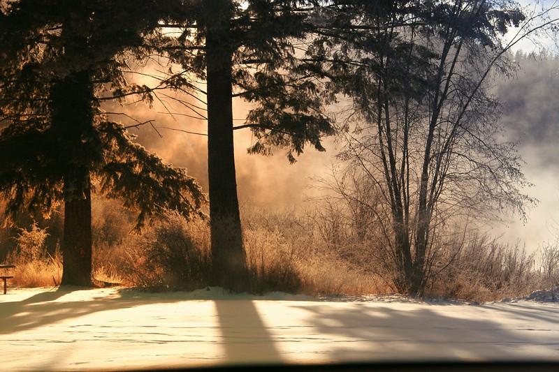 Winter Light, Libby, MT