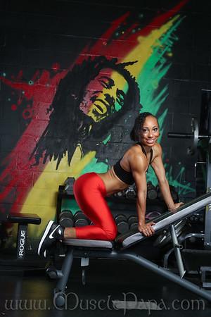 Shey Nichole  Gym Shoot