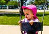 Rose on a swing for first time
