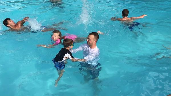 Eli Can Swim