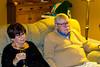 Katy and Robert watch Dick Clark (his show, not him)