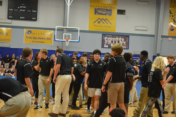 Senior Night - Pep Rally