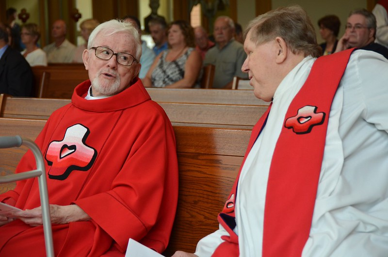 Fr. Paul and Fr. Bill