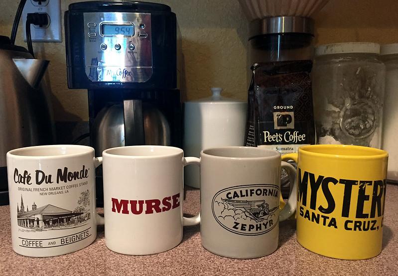 four mugs