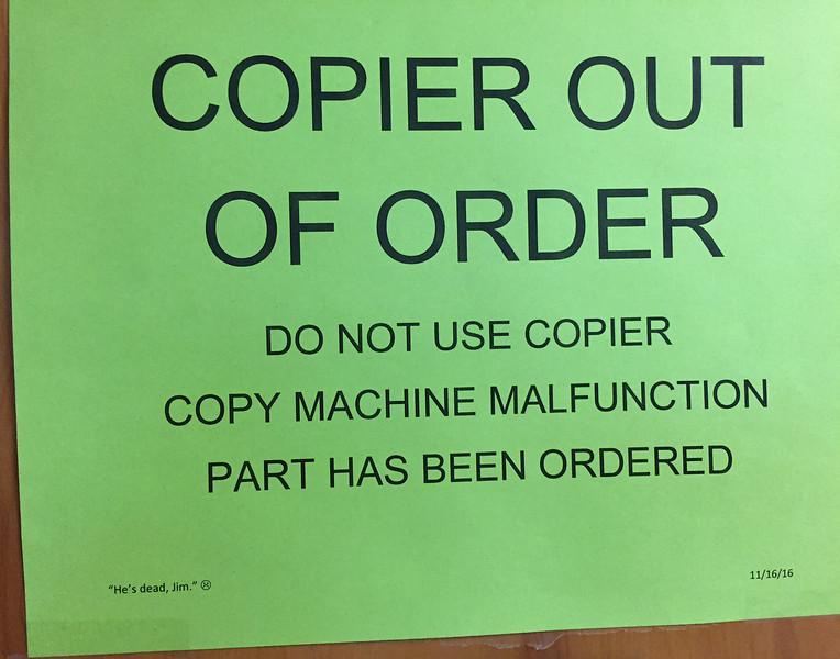 dead copier