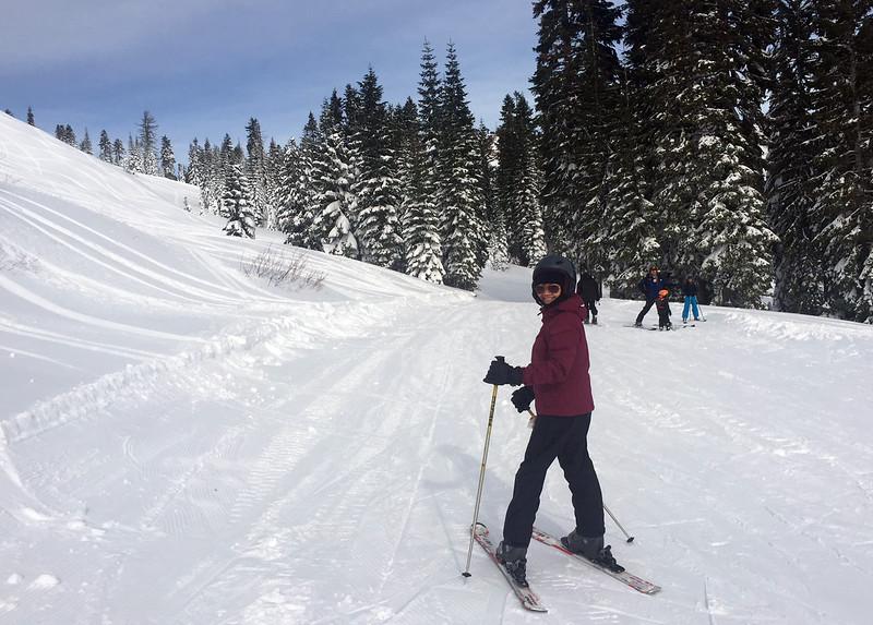 puu skiing