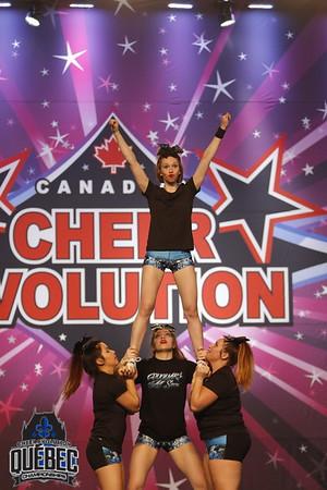 Les Couguars de Quebec Flawless Open Stunt 4