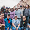 GeoLaunchpad and RESESS interns pose with UNAVCO staff and graduate students from CU Boulder while on a field trip to the Mountain Research Station in Nederland, Colorado. (Photo/Christopher Chase Edmunds, UNAVCO)