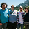 2017 RESESS interns at the NCAR Mesa Lab facility in Boulder, Colorado.  (Photo/Aisha Morris, UNAVCO)