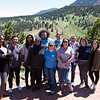2017 RESESS interns and UNAVCO staff at the NCAR Mesa Lab facility in Boulder, Colorado.  (Photo/Aisha Morris, UNAVCO)
