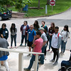 2017 RESESS, SOARS, and NEON interns participate in Leadership Training during orientation week.  (Photo/Aisha Morris, UNAVCO)