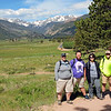 2017 RESESS interns Theron, Steven, Fatima, and Zachary explore Rocky Mountain National Park.  (Photo/Ellie Ellis, USIP Intern)