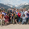 2017 RMNP Field Trip Interns Group Funny Photo