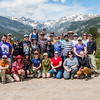 2017 RMNP Field Trip Interns Group Photo