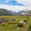 RMNP Interns Walking