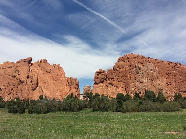 Views at the Garden of the Gods