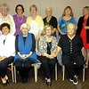 THE 2017 WOMEN:  FRONT ROW L TO R: SNOOKIE GOLDBERG, JANE HEMPSTEAD, MARGE CORNISH, SHIRLEY SEEM.  BACK ROW L TO R: LOUISE HANSEN, SHEILA MITCHELL, GLORIA GILL, NANCY MARCHAM, ILA LUTTRELL, TINA PETERSON  (MISSING FROM PICTURE:  CAROLYN ZIPP, MICHELLE ZIPP HAUER