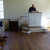DON HEMPSTEAD READS THE 2017 HONOR ROLL IN ANDREW JACKSON'S CHURCH