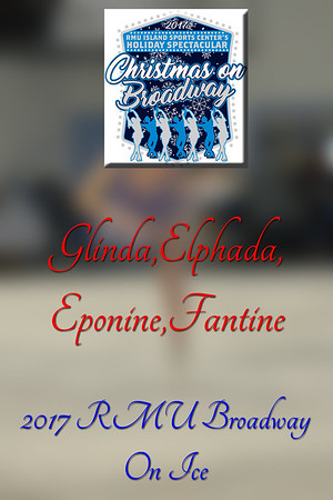 Glinda,Elphada,Eponine,Fantine