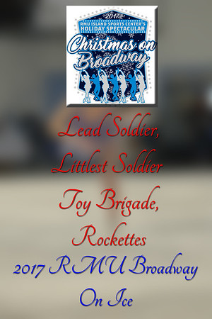 Lead Soldier,Littlest Soldier, Toy Brigade,Rockettes