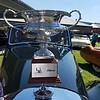 Jason Richard's 1953 R-Type Bentley B71SP.  Jason's Bentley won the Silver Trophy in the Preservation Class.<br /> Jason Richard photo