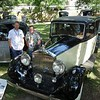 Jason Richards and john Bowyer with John's 1939 Phantom III Mulliner  3DH11.  This was the last PIII delivered from RR.<br /> John Sweney photo