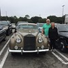 Paul and Linda with their 1960 Silver Cloud II