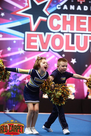 Absolute Cheer Energy Firebirds Glow Tiny Prep 1