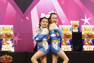 Beach cheer Athletics Ava & Kennedy Mini Duo 1