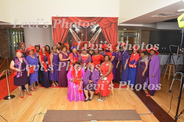 2017 Red Hat Ebony Divas Christmas in October