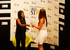 HOLLY PELCZYNSKI - BENNINGTON BANNER Gabby Douglas hands out awards to all the athletes and coaches during the 2017 Regional All Stars Gala held on Tuesday evening at Bennington College.