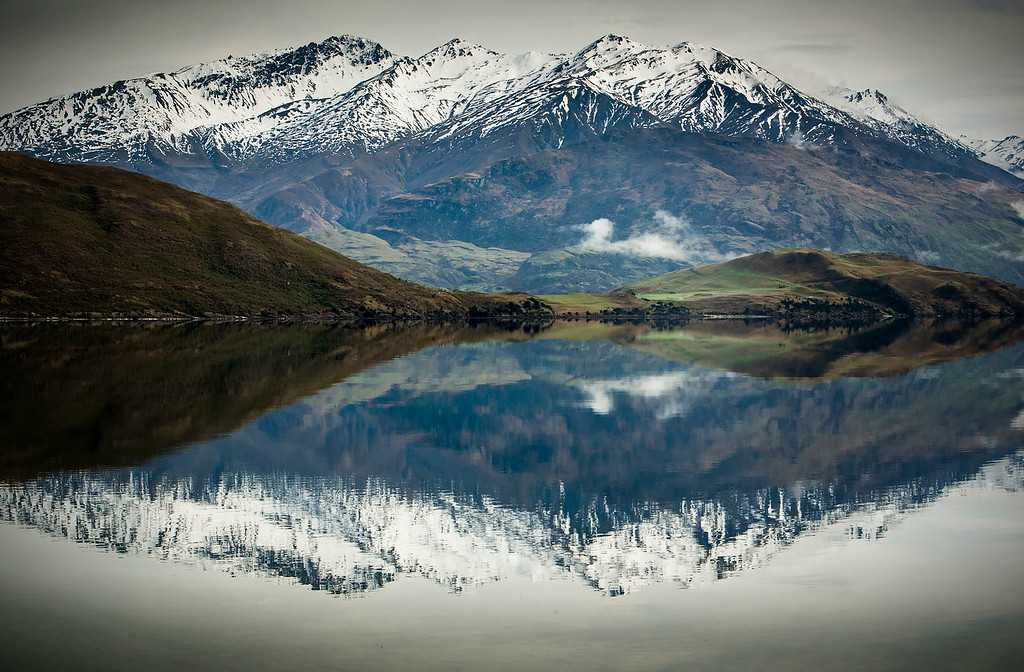 Merit B Grade, Liz Collett - Lake Wanaka  Reflections