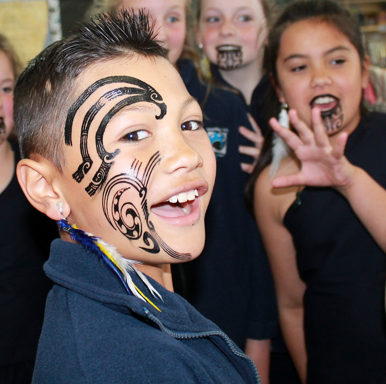 Honours, Allison Evans -  Kapa Haka Kid