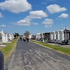 All Burial vaults are above ground in New Orleans