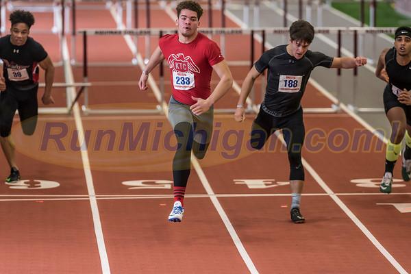 Job Mayhue - 2017 MITS Boys' 60m Hurdles State Champion