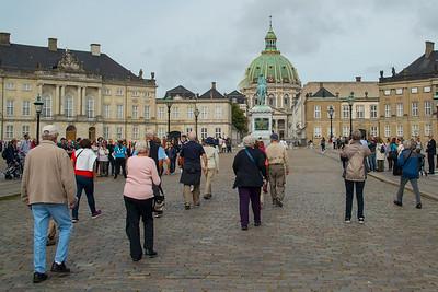 Amalienbork Palace, Copenhagen, Denmark