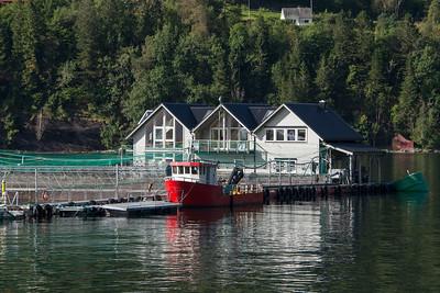 Hardanger akvasenter salmon farm